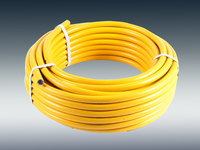 What causes pvc-reinforced hoses to become unsmooth