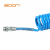 Pu Recoil Hose, High Quality And Various Colors for Choose,europe Type Quick Couplers